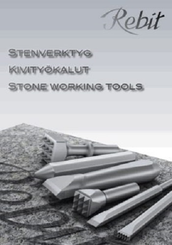Rebit Professional Swedish made TCT Carving chisel for all stone