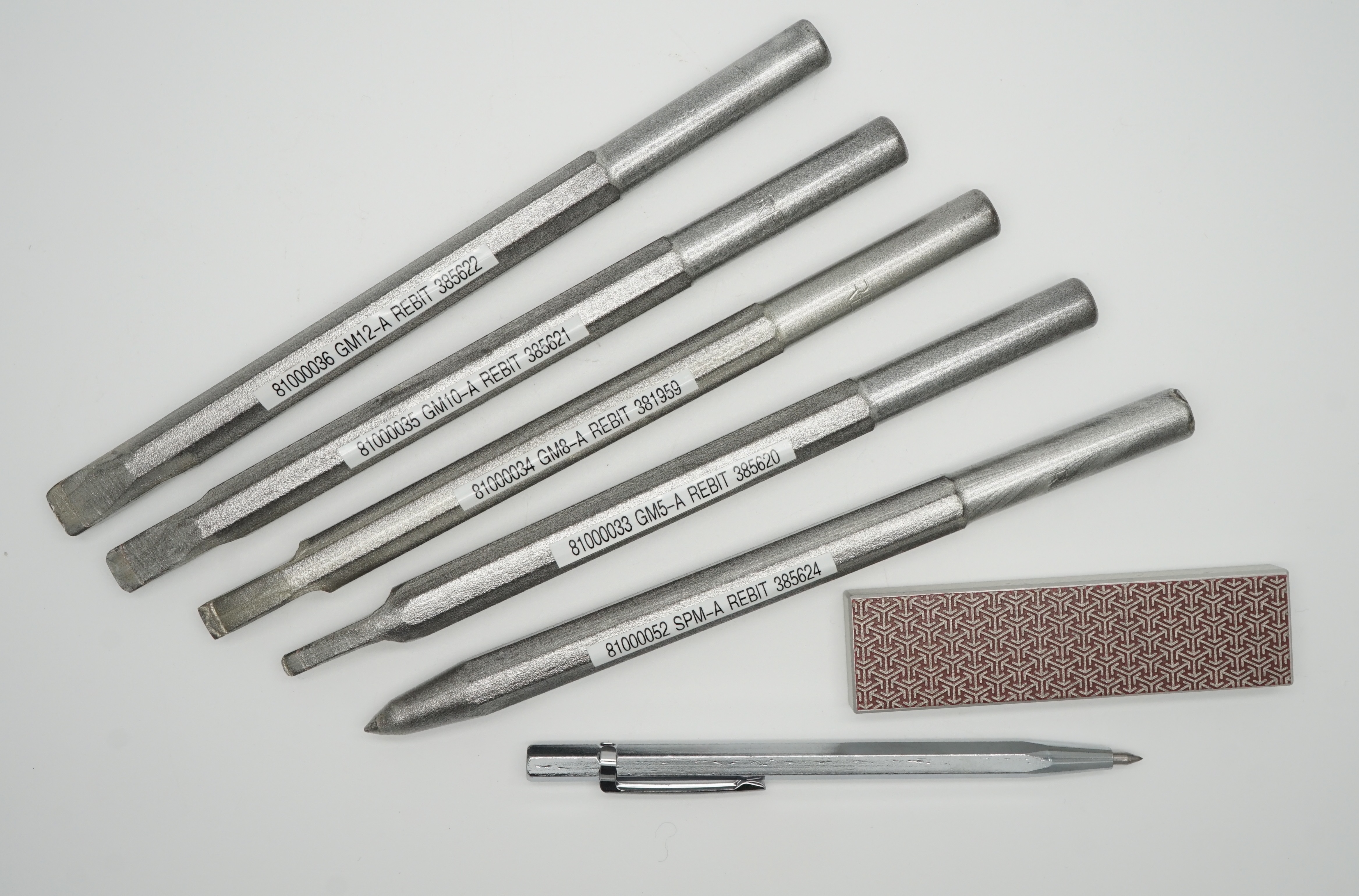 Rebit Professional Swedish made TCT Punch chisel for all stone